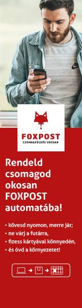 FOXPOST Csomagautomata
